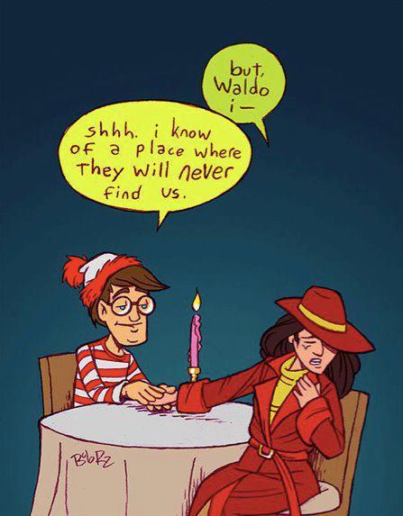 Waldo & Carmen SanDiego