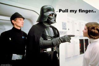 Darth Vader - Pull my Finger