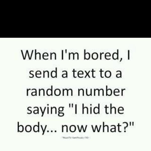 Random Text Messages