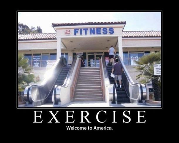 Escalator to Gym