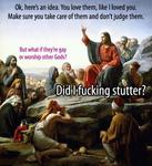 Jesus Says Don't Judge