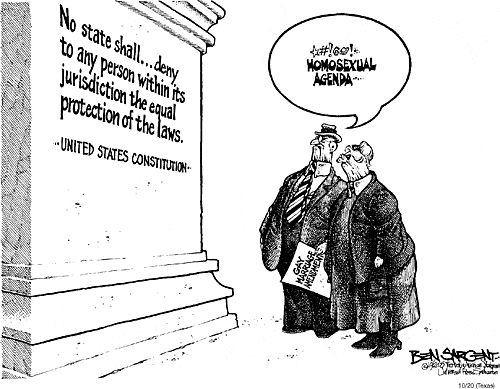 Homosexual Agenda in the U.S. Constitution