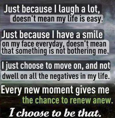 Choose to Move Beyond Adversity