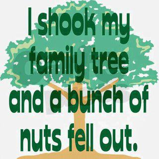 I Shook My Family Tree and a Bunch of Nuts Fell Out